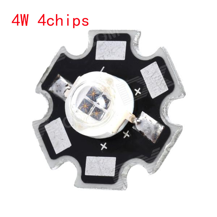 Freeshipping 1W 3W 5W  Infrared IR 850nm 940nm High Power LED Bead Emitter DC1.5-1.8V with 20mm Star Platine Base for Security