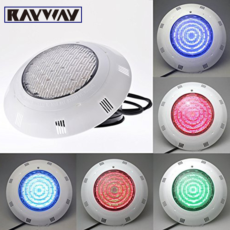 RAYWAY 40W led swimming pool light IP68 AC12V LED Outdoor Lighting RGB led Underwater Lighting pond led Pool light Warranty