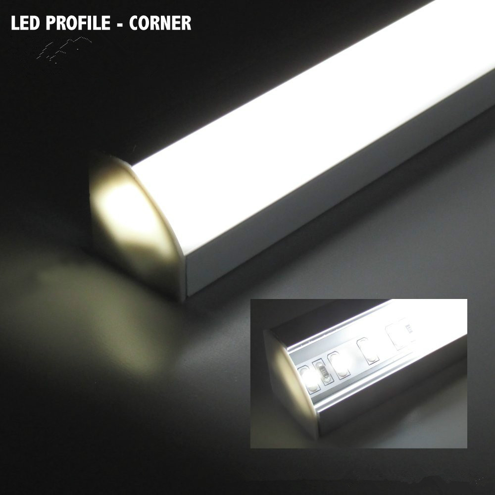 10pcs 1m 5630 5730 72led hard rigid bar strip cabinet lights DC12V with aluminum profile shell channel tube pc cover