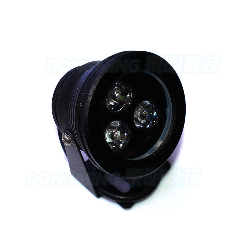 10W 12V RGB underwater led light Waterproof IP68 3leds Aluminium pond fountain swimming pool lights landscape lamp DC12V