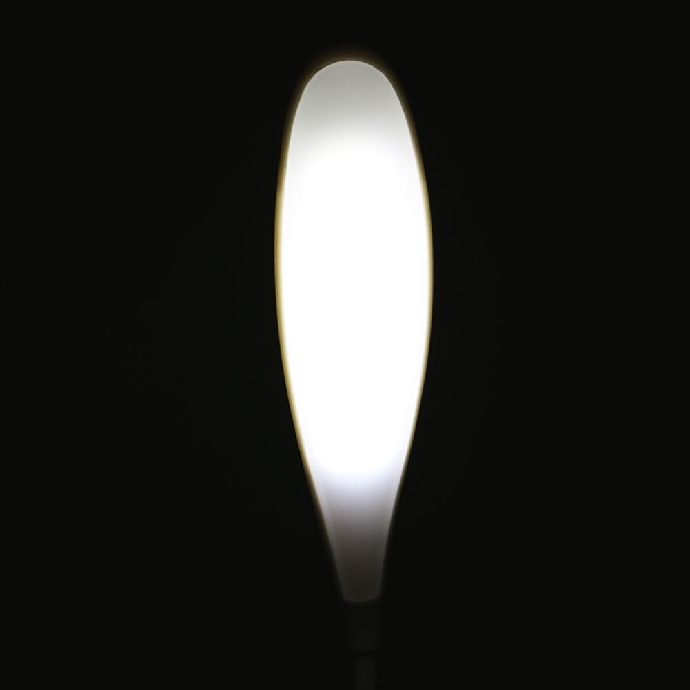 2016 New Adjustable USB LED Table Light Touch Switch White Student Desk Lamp Leaf Shape Infrared sensors Powerd by USB or 3AA