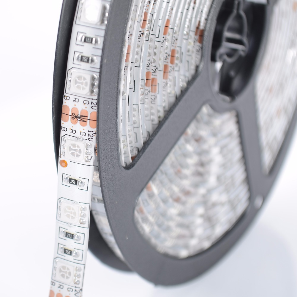 SMD 5050 AC 220V Led Strip Flexible Light 1M/2M/3M/4M/5M/10M +Power Plug 60 leds/m Waterproof Led Light