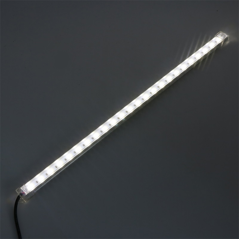 SZYOUMY 5PCS SMD 5630 USB LED Hard Rigid Strip Bar Light 5V 24 Leds 35CM Indoor Lamp with Switch for Indoor Use