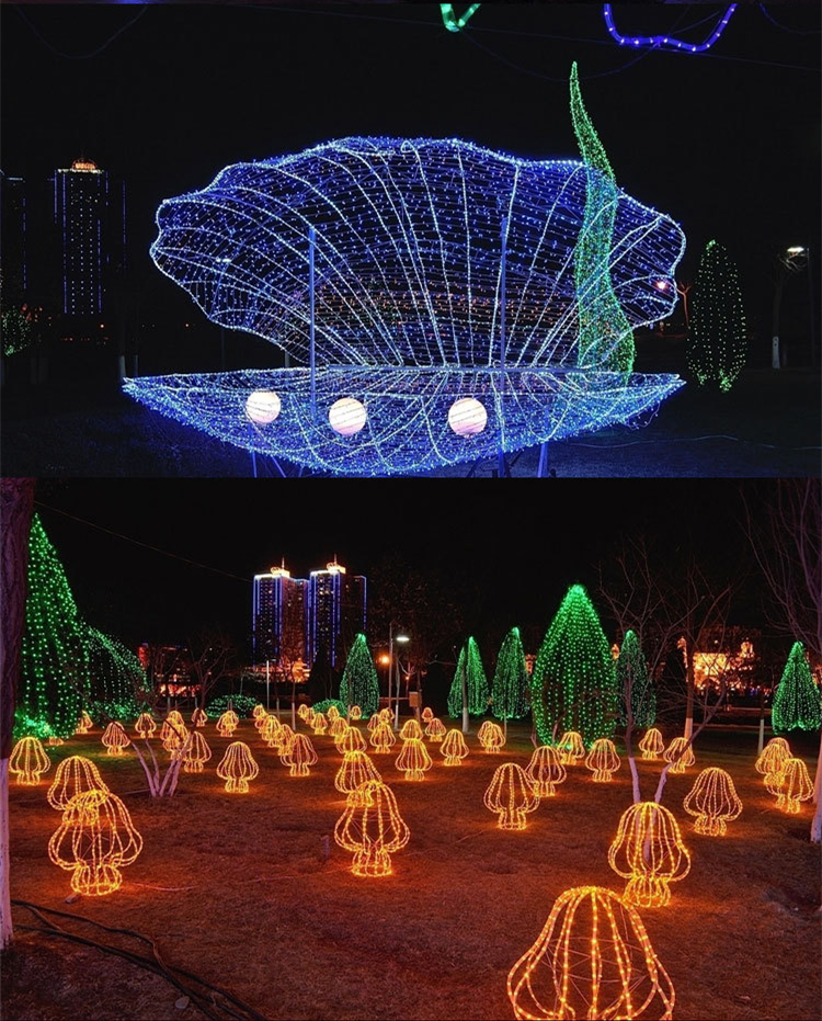 New 30M Waterproof 240 LED Holiday String Lights for Christmas Festival Party Trees Home Decoration LED-30M