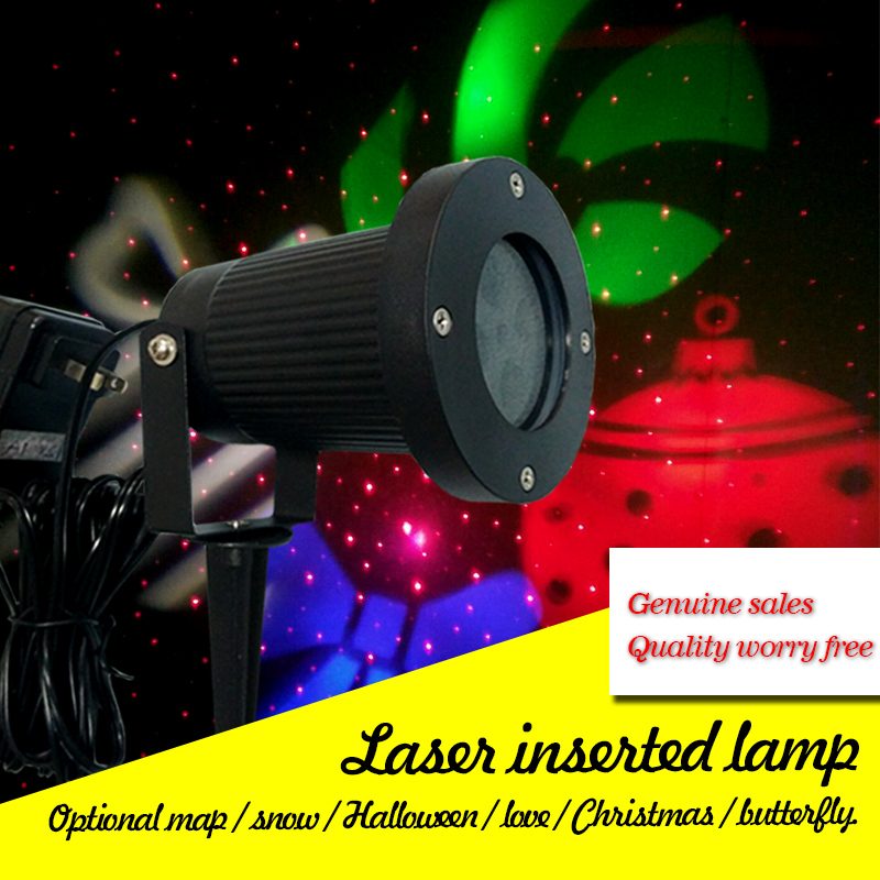 Red lawn lights outdoor waterproof lights Christmas Halloween party lights