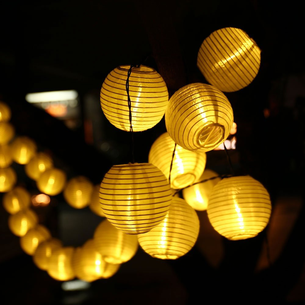 Outdoor Lighting Lantern Ball Solar String Lights Fairy