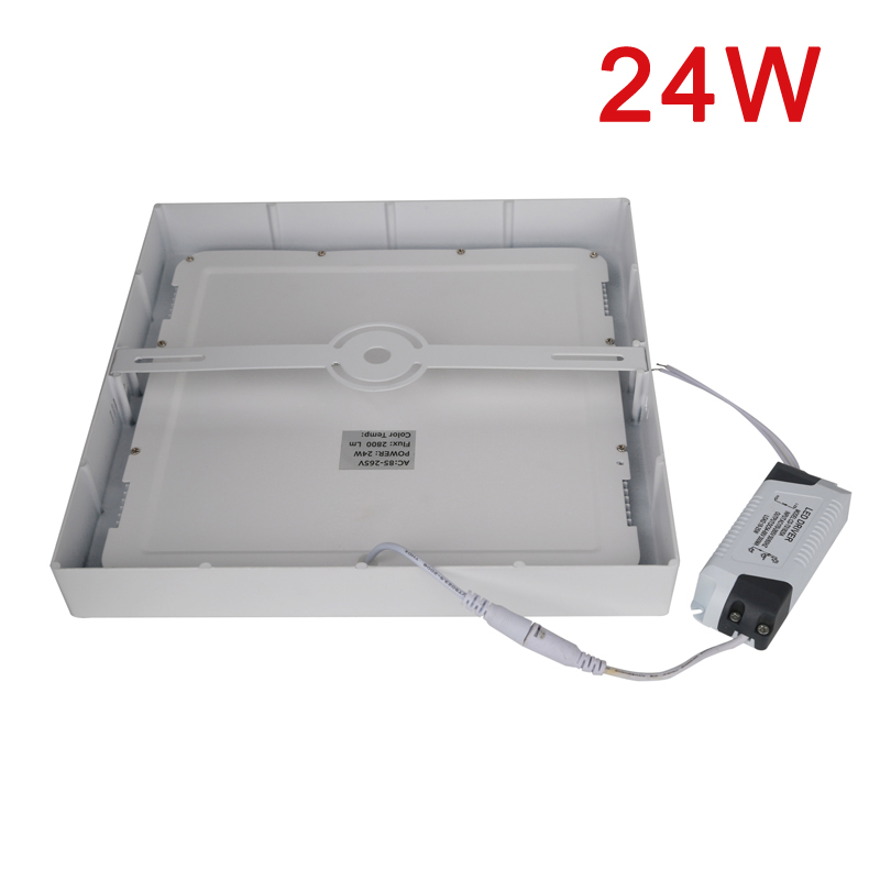 xtf2015 Cool White 6W Led Super Bright LED Panel Light 6000-6500k Ceiling Downlight Lamp Kit with LED Driver AC MZD24