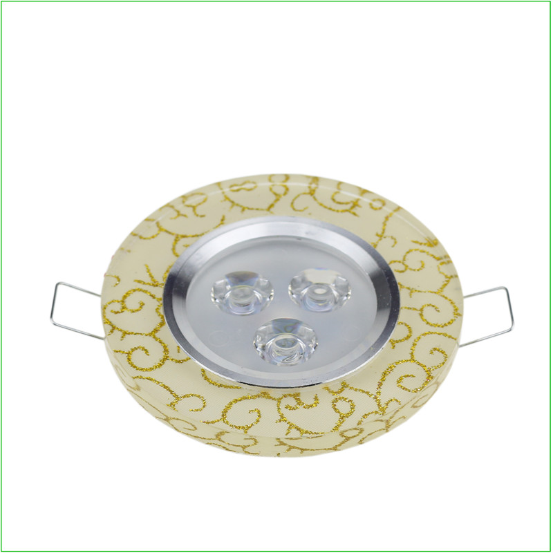 1X High Power Led Downlights 3W 110V- 240V LED Ceiling Downlight 2835 Lamps Led Ceiling Lamp Home Indoor Lighting White
