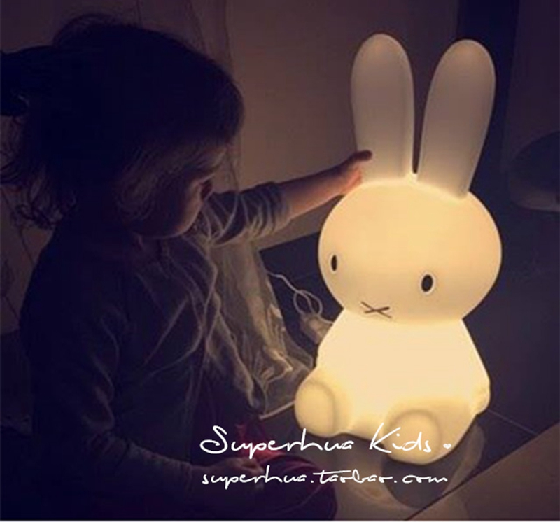 children's room lamp table lamp night light feeding rabbit lamp lights sale