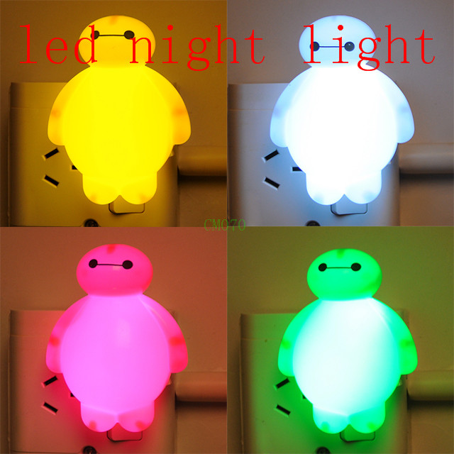 New With Switch LED Nightlight creative baby feeding night light bedside night light white cartoon children unplugged white