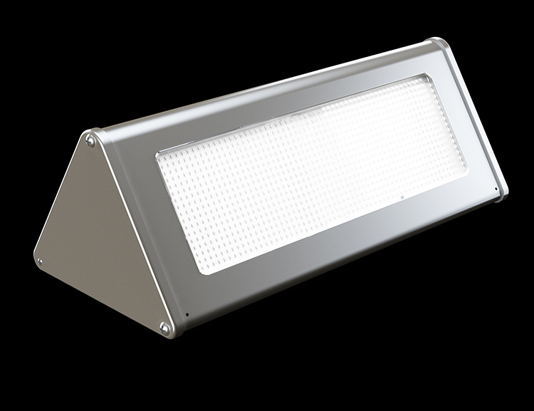 Outdoor Aluminium Alloy  LED Solar Wall Light Garden Lamp Microwave/Radar Induction 10Years Lifetime UP to 100W Brightness