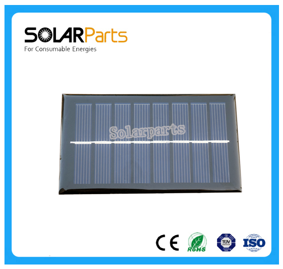Solarparts 5x 0.8W polycrystalline solar panel module cell system 4V DIY kits for toys light led science toy experiment outdoor