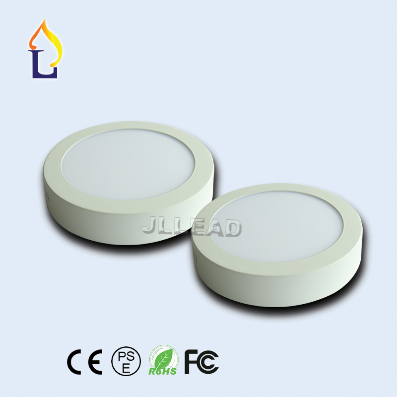 20PCS/Lot LED Panel Light 6W 12W 18W Surface Mounted LED Ceiling Lights AC85-265V Round LED Downlight 30 60 90pcs 2835SMD