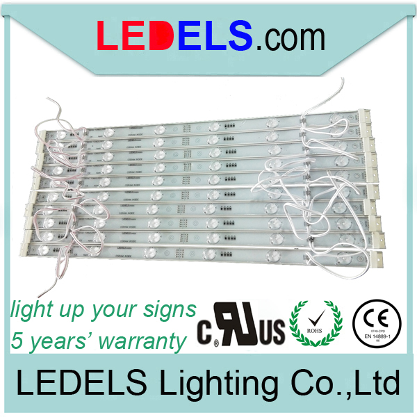 5 years warranty,24V 7.2w 720lm high power osram led strip light for slim sign box outdoor sign lighting