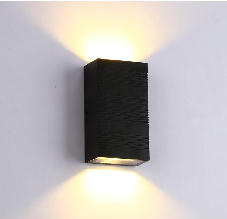 Hot sale New 6W outdoor wall lamp commercial household, villa and courtyard exterior wall lamp IP65 waterproof outdoor wall lamp