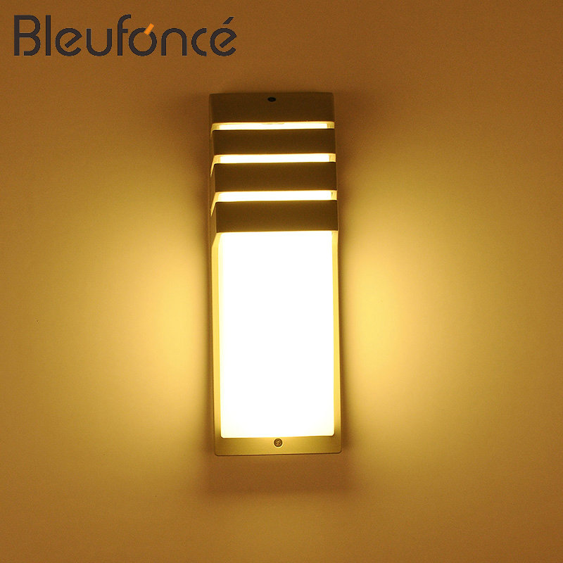 Outdoor Waterproof LED Wall Lamp 20W LED AC85-265V Light Lighting Garden Lights Modern Wall Sconce Waterproof Wall Lamp