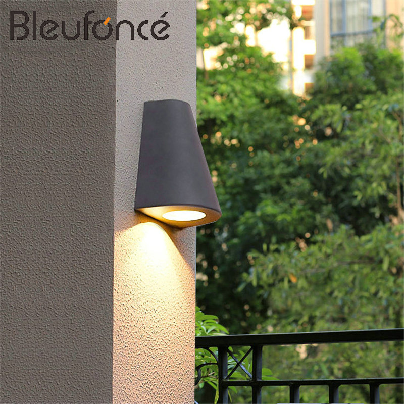 Wall Light LED Aluminum Wall Lamp IP65 Waterproof Villa Courtyard Corridor Wall Light Fixture Indoor and outdoor lighting NB101
