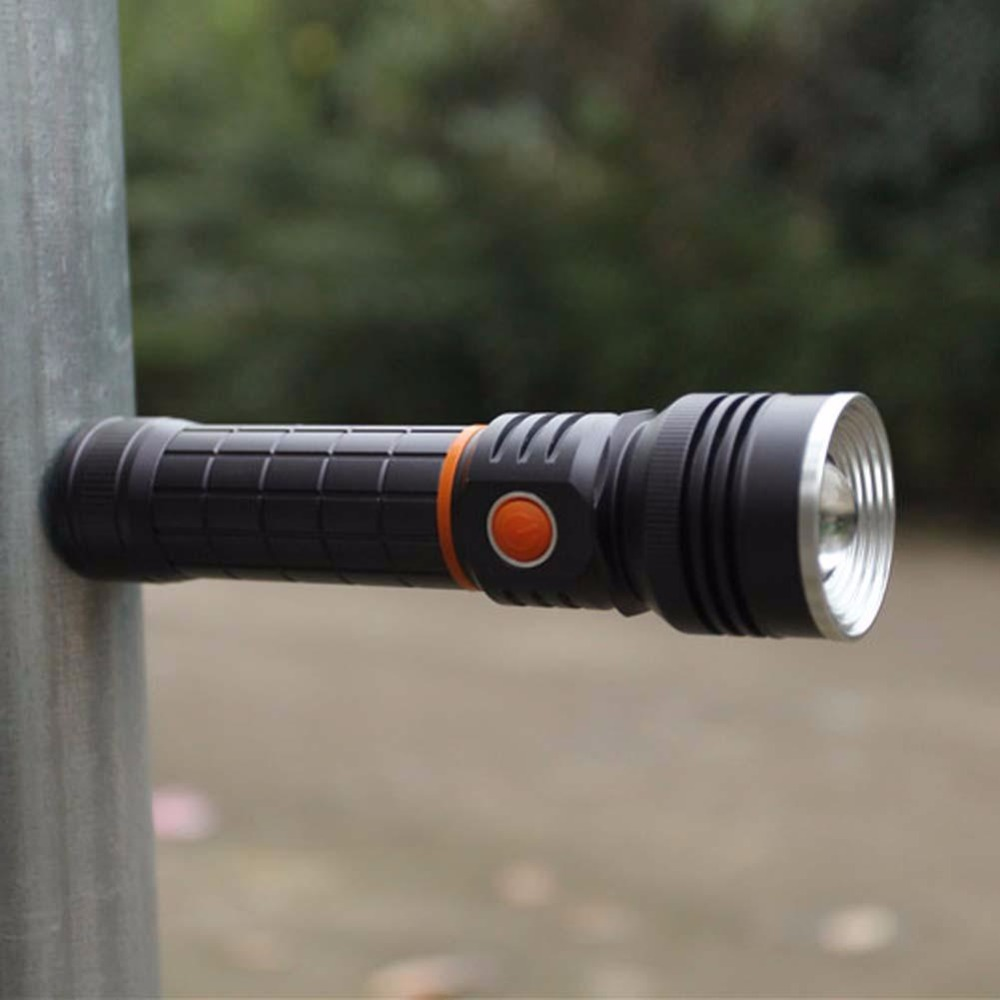 High Quality  Q5+COB LED Magnetic tail Flashlight Torch 18650 WorkLight