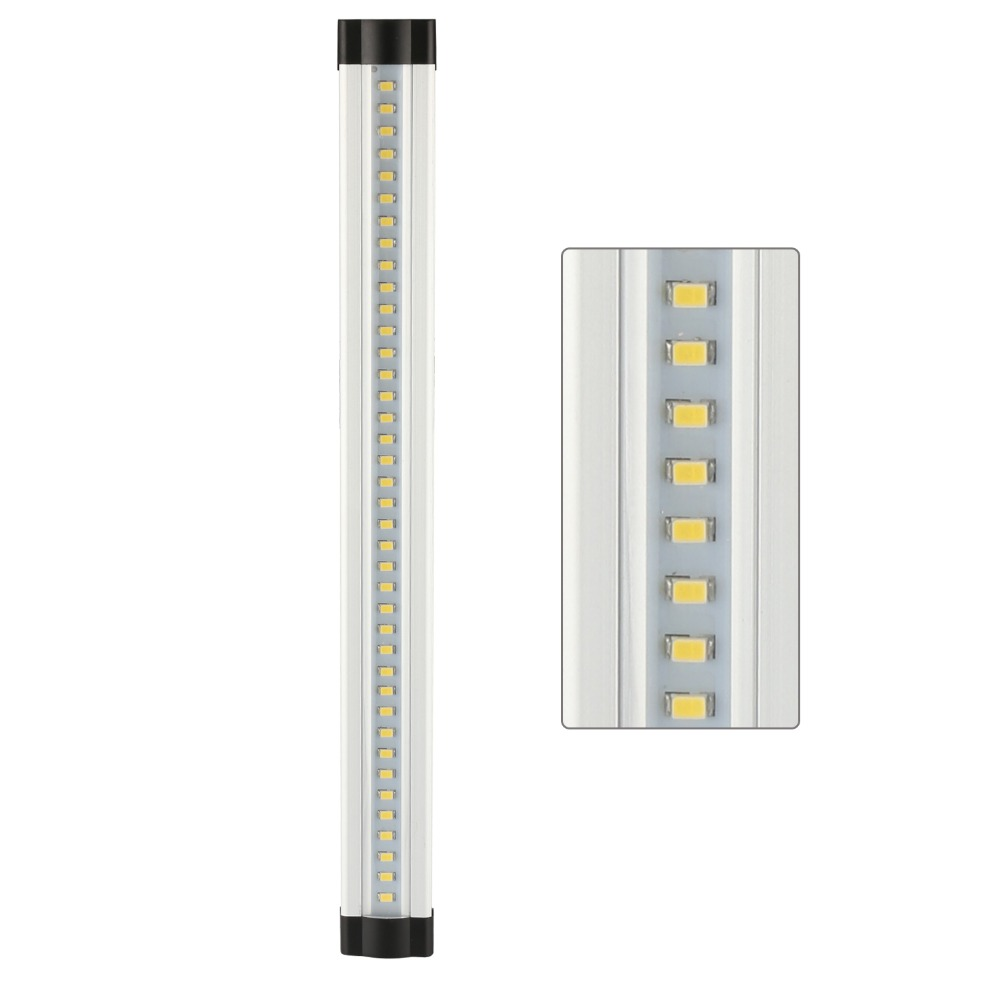 DMXY 3pcs/set smd 2835 IR remote control Dimmable Under Cabinet Light Kitchen Light LED bar light 3*0.3m*33LEDs Hard Rigid Bar