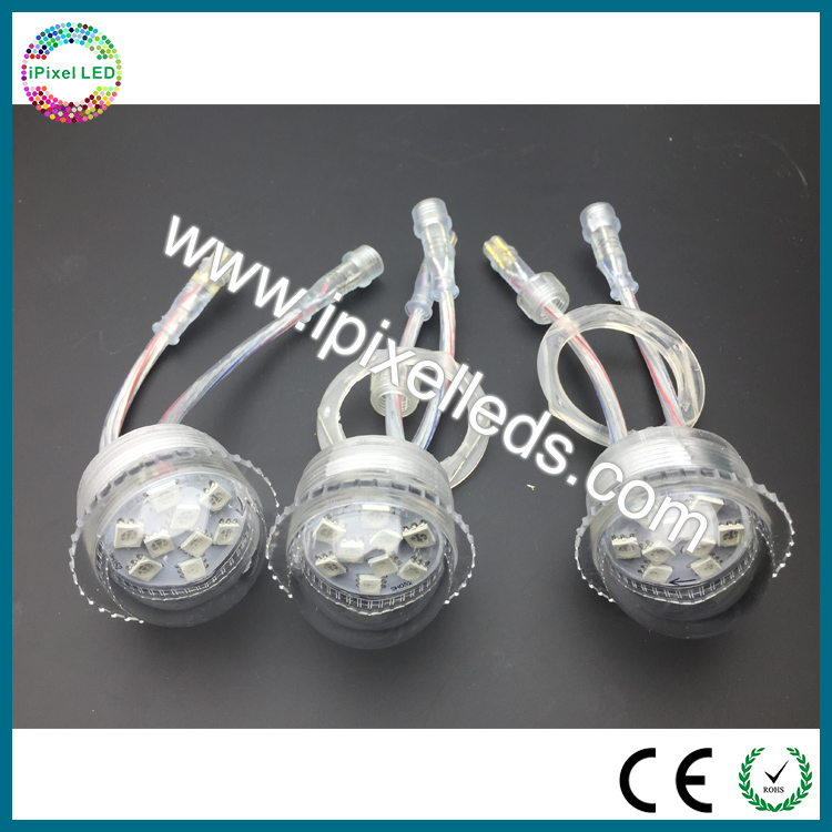 Madrix control 26mm RGB led point light for screen display
