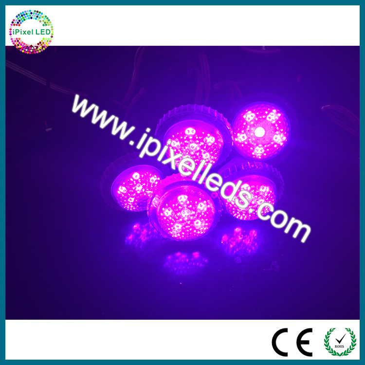 Shenzhen Factory Wholesale 38mm LED Pixel Light Full Color DC24V