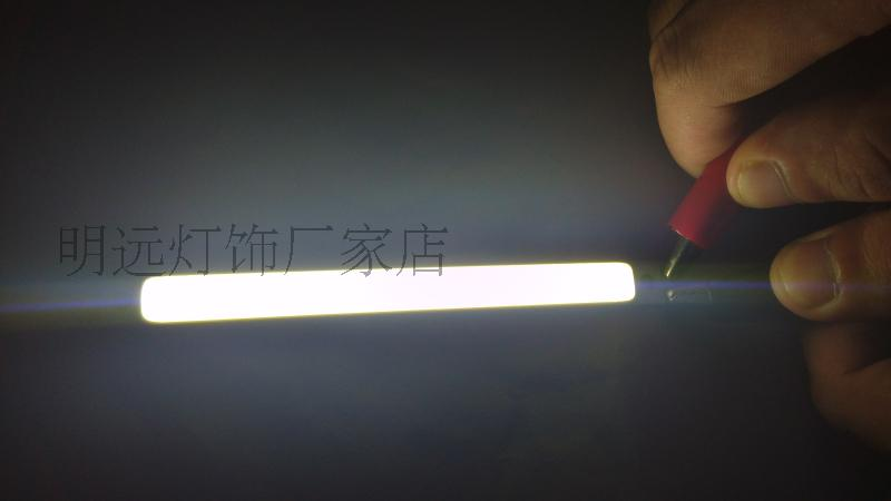 9-11V LED COB plate surface light source lamp plate strip COB line light source, lamp Desk lamp lamp bead light source