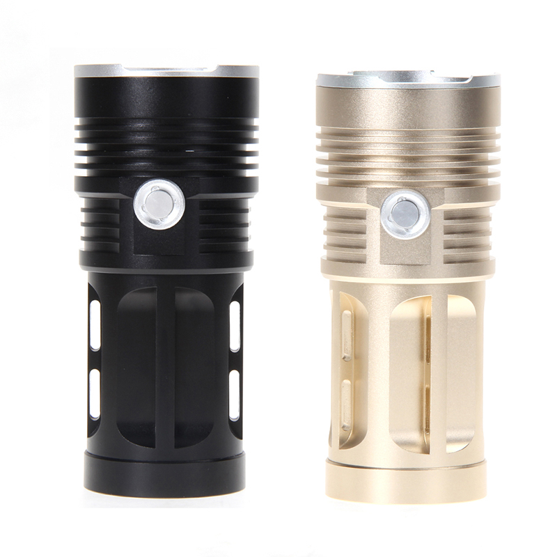 28000LM 11 LED Hunting Flashlight Aluminum Alloy Super Bright LED Torch 4 x 18650 Emergency Lamp for Camping Biking