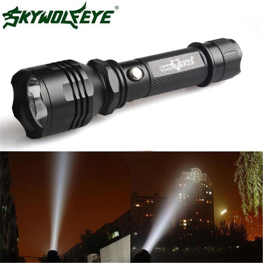 Super 3500 Lumens CREE XM-L C8 T6 LED Flashlight 18650 Torch Light Lamp