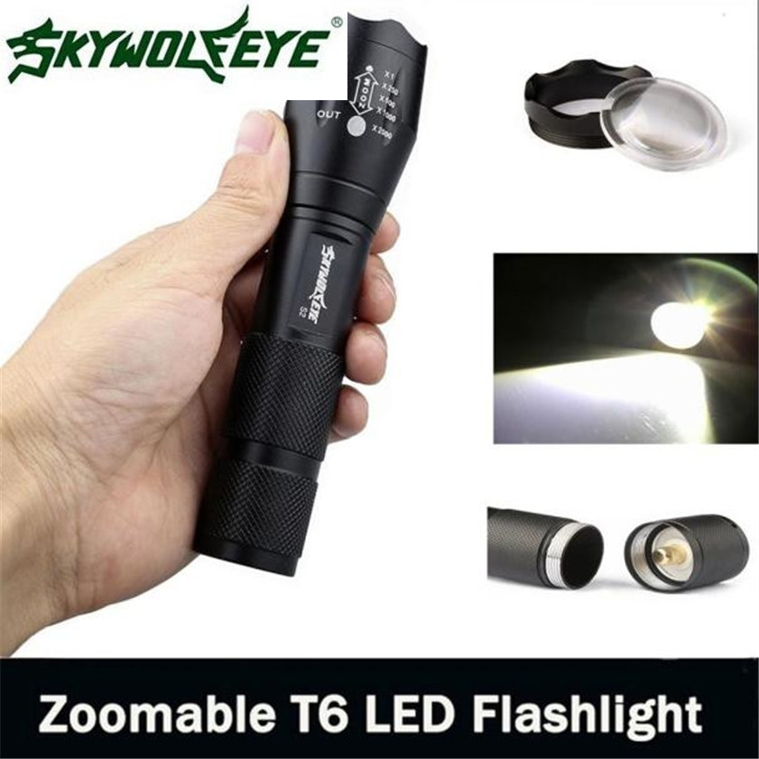 Super 3500 Lumen 5 Modes CREE XM-L T6 LED Torch Powerful 18650 Flashlight Lamp Light