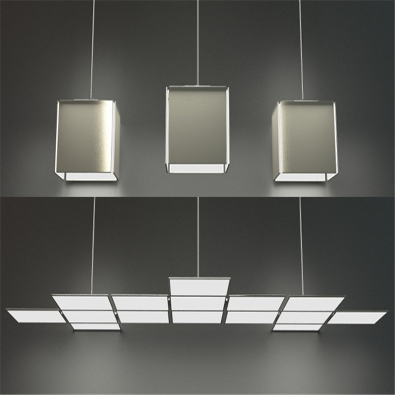 2017 Newest UIV 100*100mm Square OLED Panel Light Glass OLED Ceiling Lights Energy-saving 0.85-1.38W DC Current 100-230MA
