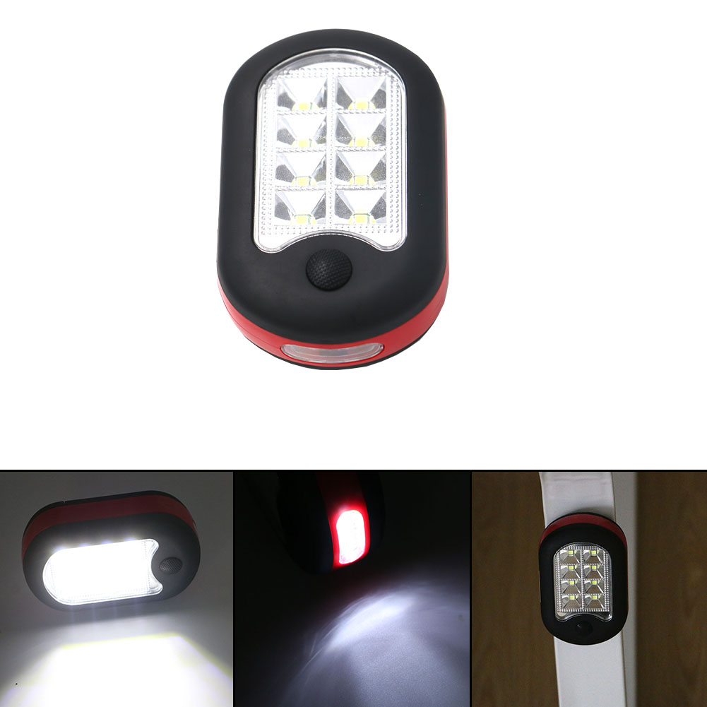 24+3 LED Work Light Portable Lamp Flashlights Torch Lanterna with Magnet & Standing Rotating Hanging Hook for Outdoor