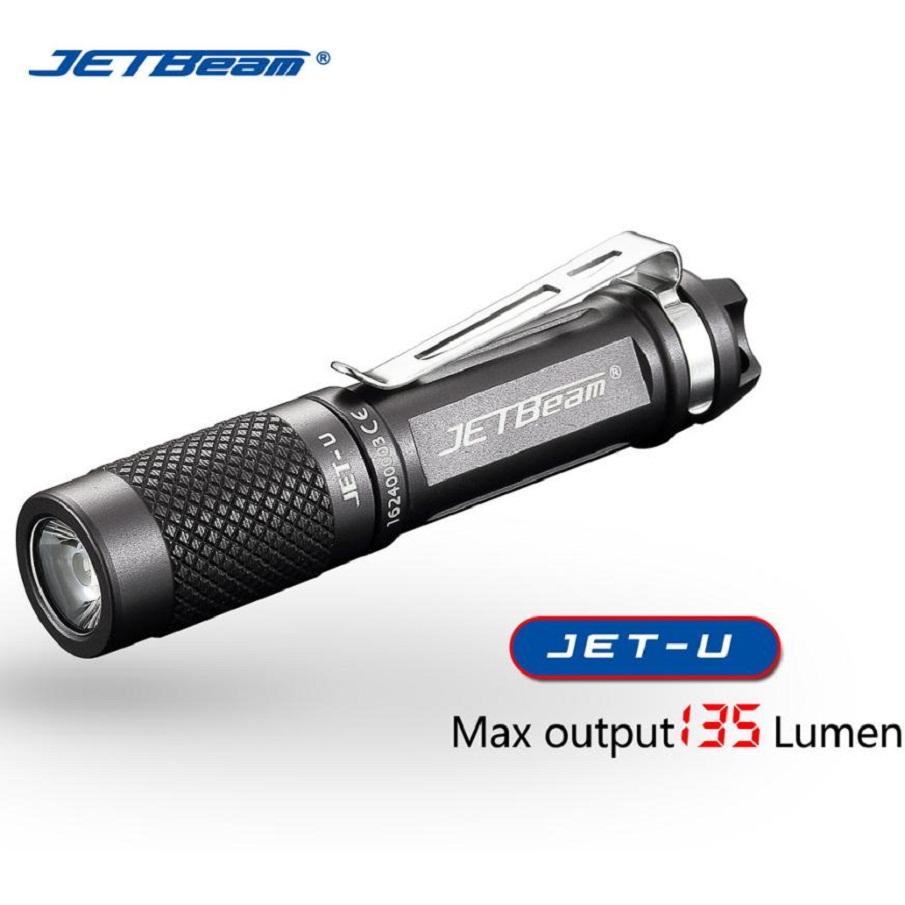 JA 9 Shining Hot Selling Fast Shipping Outdoor  JETbeam JET-U Cree XP-G2 135LM Mini Portable Waterproof LED Flashlight