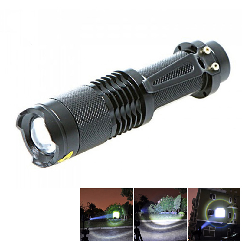 XML-T6 5-mode 2000 Lumens Zoomable LED Lamp Tactical Flashlight Torch Penlight Night Led Campin Light   Shop --M25