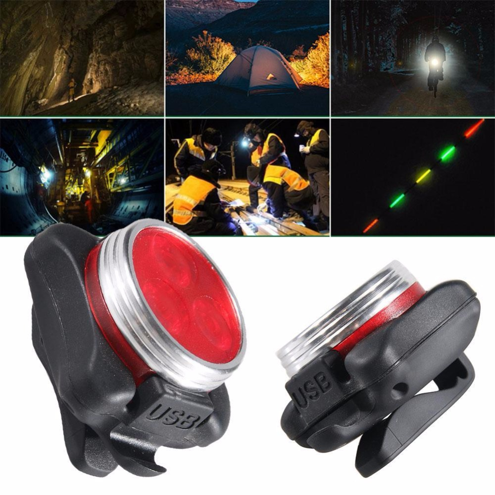 New Portable 300LM Light Mini LED Flashlight Torch Durable Lamp Lights Red