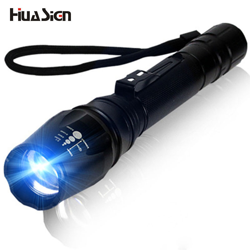 Ultra Bright 5 Modes Tactical XML T6 LED Flashlight Zoom linterna led for hunting cycling camping