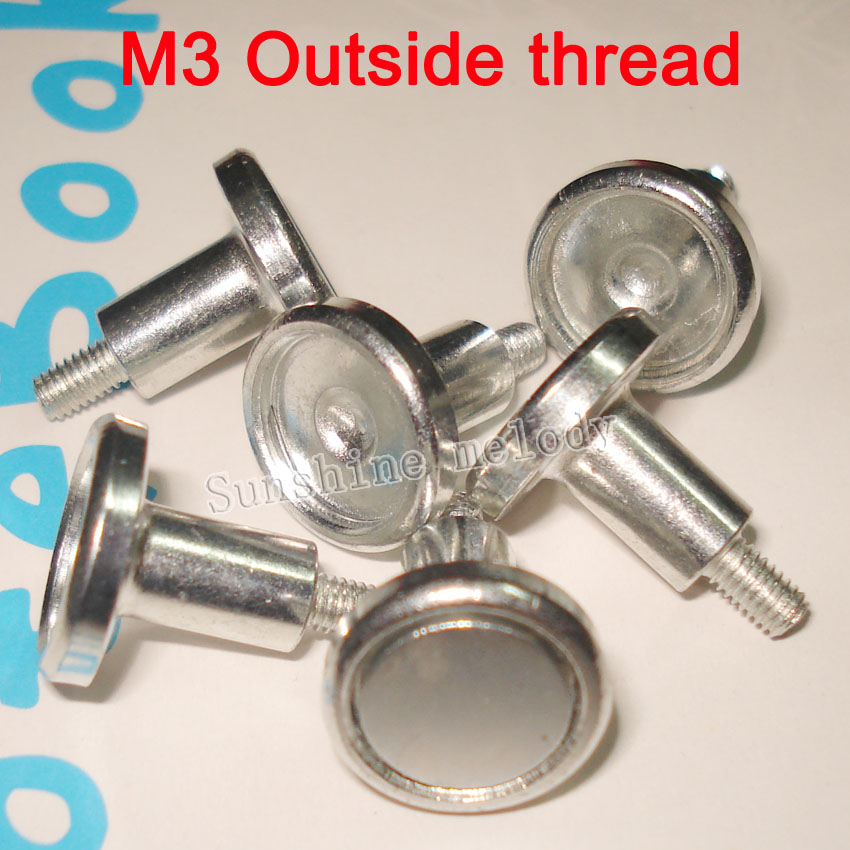 M3 Outside thread Magnet screw,apply to Indoor RGB full color LED Panel,P4 P5 P6 P10 LED Module mounting screws