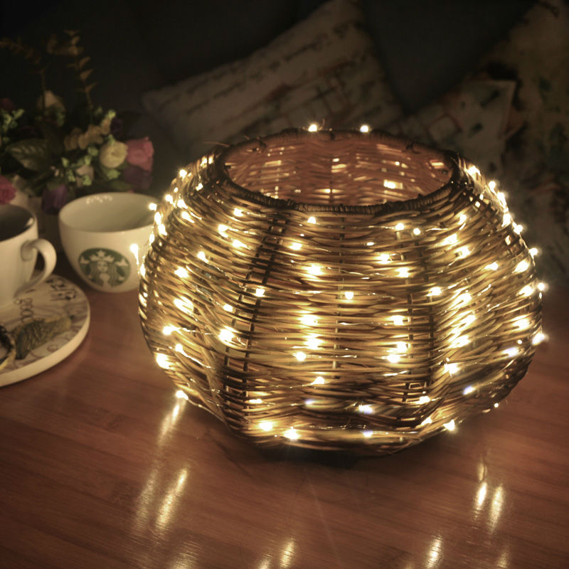10M/100LEDs Starry lights fairy holiday silvery wire string light indoor bedroom wall decorative lighting fairy Xmas lights