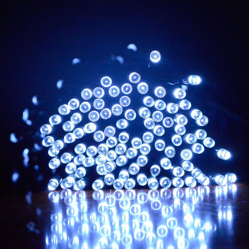 Solar Powered Outdoor String Lights 22M 200 Leds Solar Fairy String Lights for Outdoor Gardens Homes Party Christmas  Ho --M25