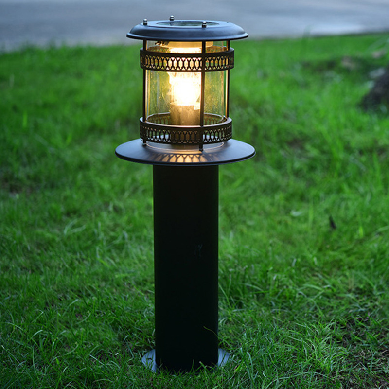 Vioslite Led Solar Lawn Light 18W  Environmental Stainless Steel Lawn Lamp Solar Energy Lawn Lamp