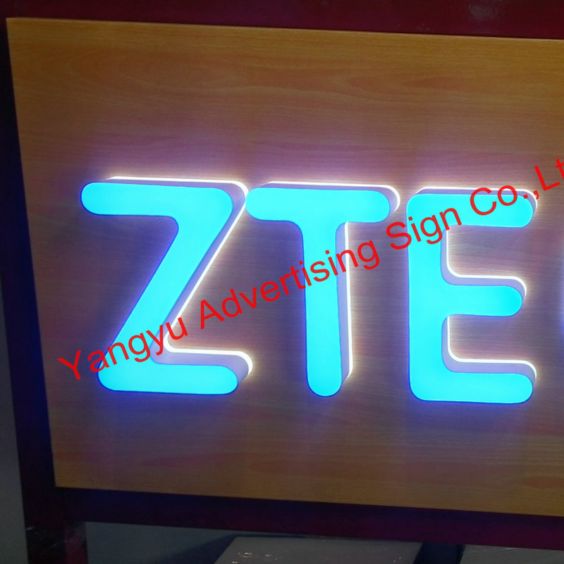 3D Outdoor acrylic led vintage sign light up letters