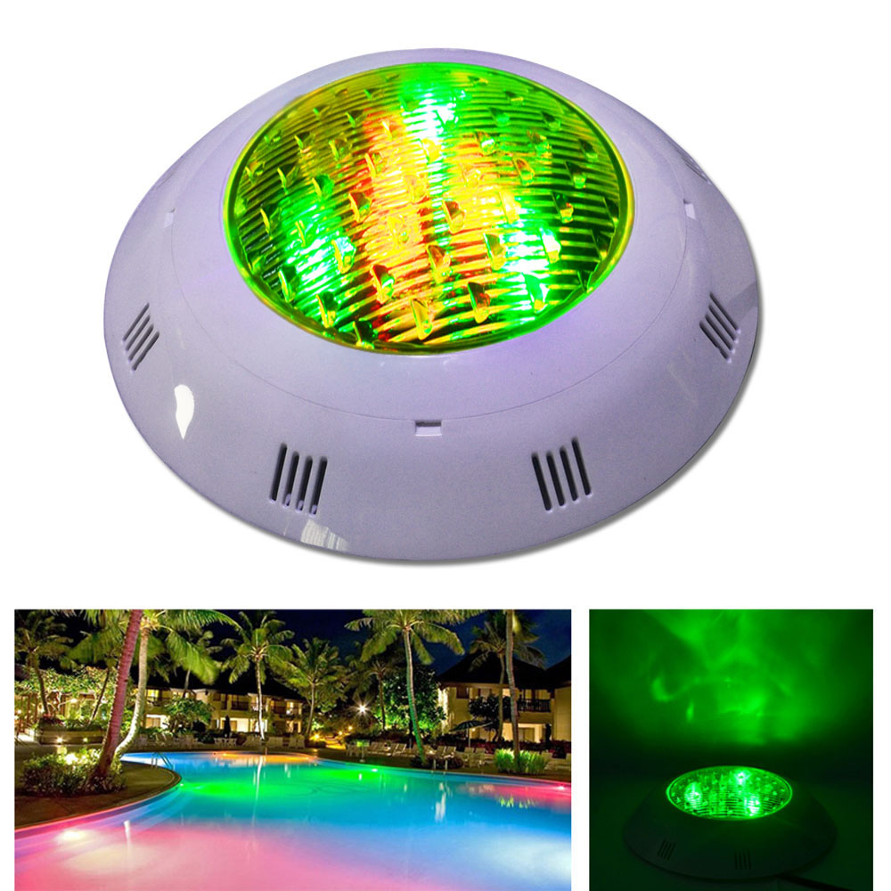 Jiawen LED Underwater Lights DMX512 RGB LED Swimming Pool Light 12W 9W  DC12-24V