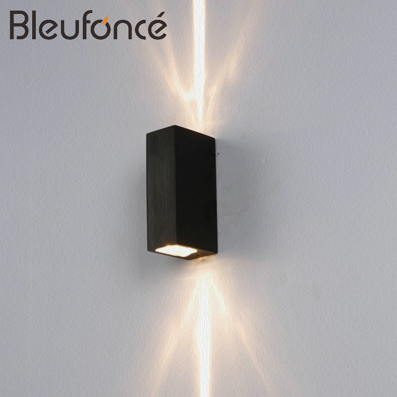 Lights & Lighting Outdoor Waterproof Ip65 6w 12w Wall Lamp Modern Led Wall Light Indoor Sconce Decorative Lighting Porch Garden Lights Wall Lamps Good Reputation Over The World