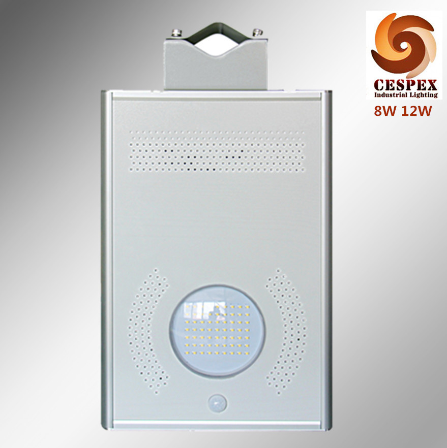 IP65 LED light solar panel and battery all in one 8W-60W solar LED street light, solar LED garden light with motion sensor