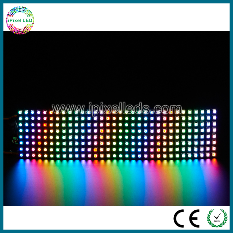 apa102 addressable led mini flexible led message sign board screen