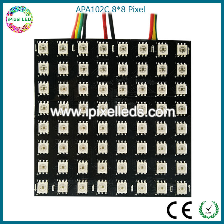APA102/WS2812B programmable led module flexible led screen/soft led display