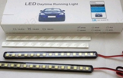 12V LED 2pieces(1pairs) LED High quality Aluminum Waterproof White light AUTO Daytime Running Light