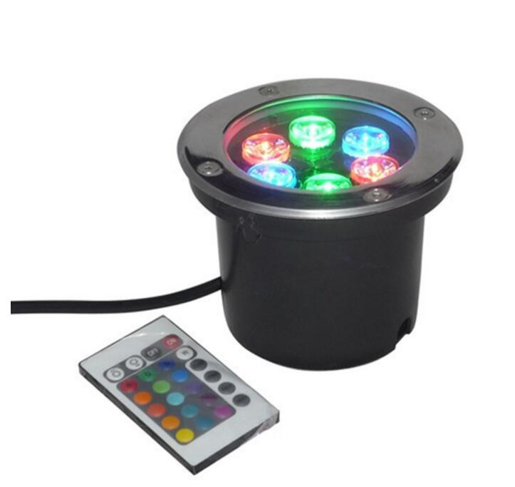 IP67 Waterproof 6W Garden Path Outdoor LED Underground Light