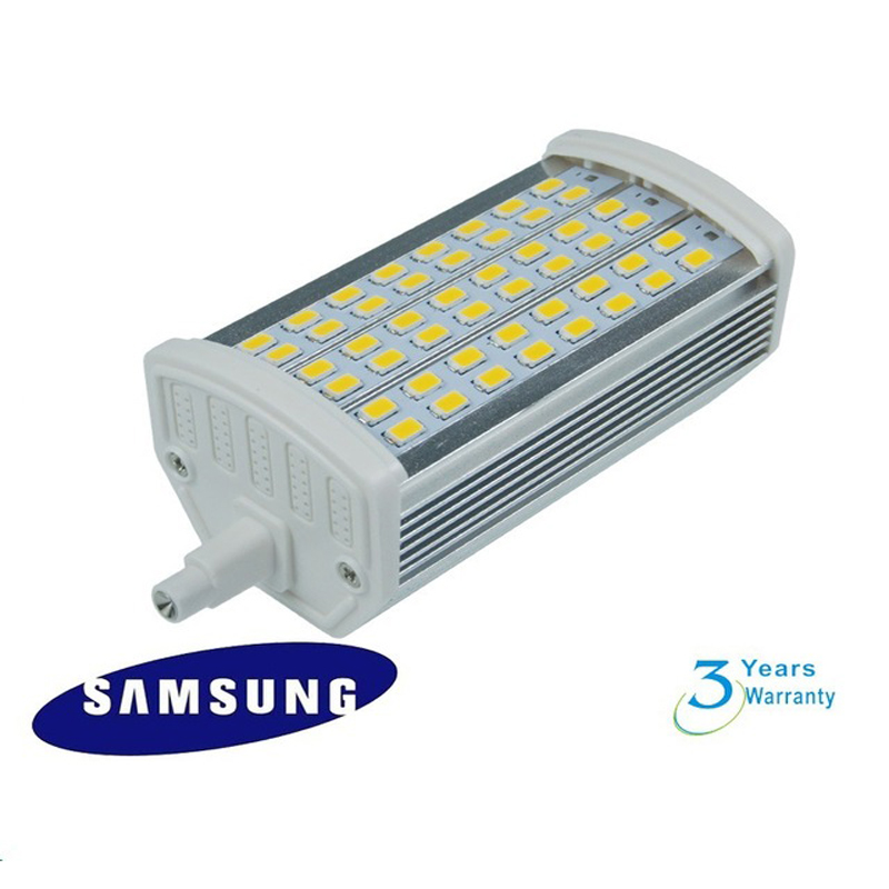 Dimmable 15W Samsung SMD5730 led source  led  R7S lamp 118mm replace 150W halogen outdoor floodlight lamps