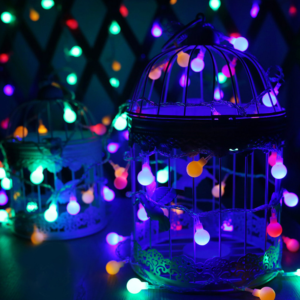 4.2M 40 LED Battery LED String Ball Lights Lamp Christmas Party Festival Indoor Decoration Fairy String Lamp Novelty Lighting