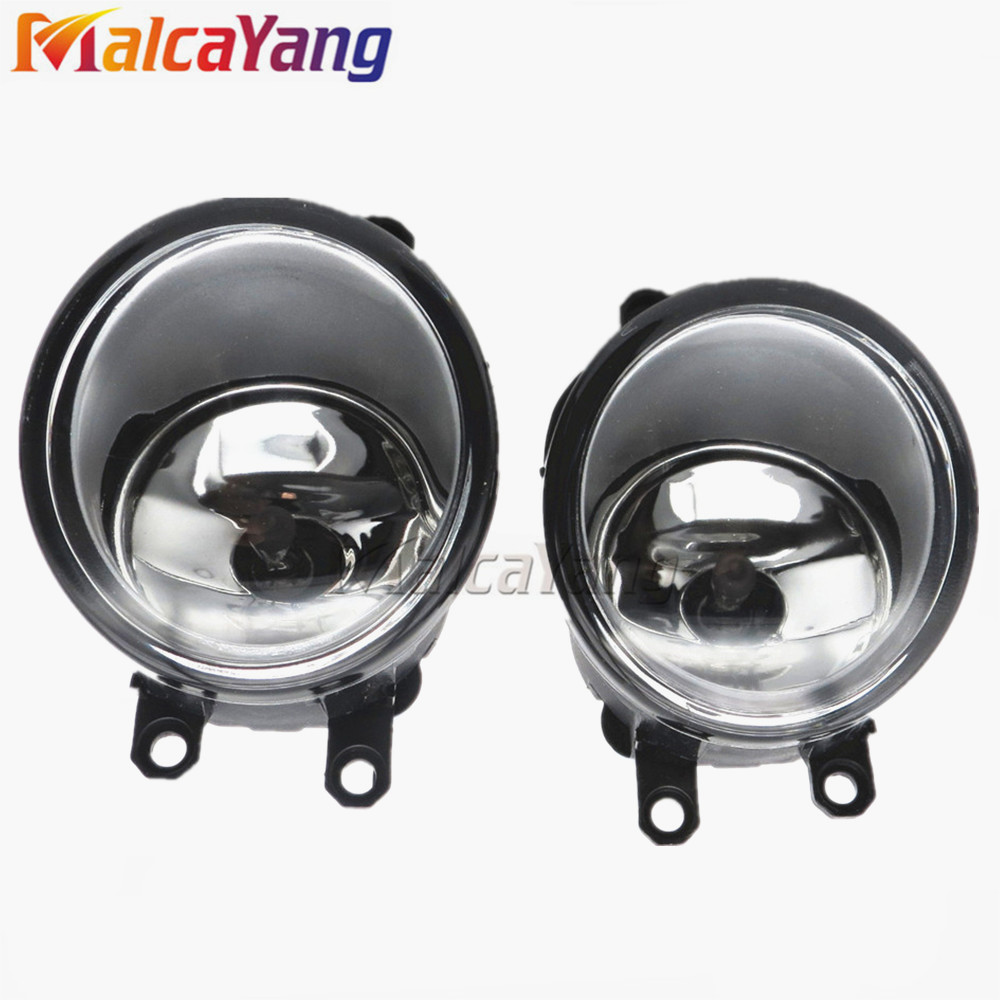 Fog light Lamp Left + Right Set For Toyota Camry Corolla Yaris RAV4 Lexus GS350 GS450h LX570 HS250h IS-F LX570 RX350 RX450h